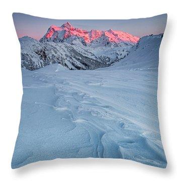 Shuksan's Shine Throw Pillow