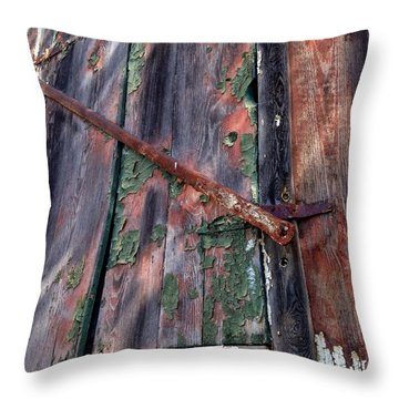 Shut Down Throw Pillow by Olivier Calas