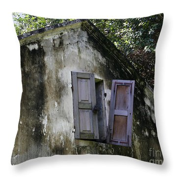 Shuttered #3 Throw Pillow
