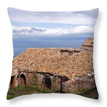 Sicilian Forgotten Sound Throw Pillow