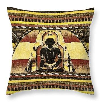 Siddhartha Gautam Throw Pillow