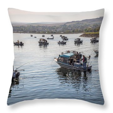 Side By Side Throw Pillow by Brad Stinson
