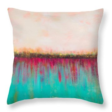 Side By Side Throw Pillow by Suzzanna Frank