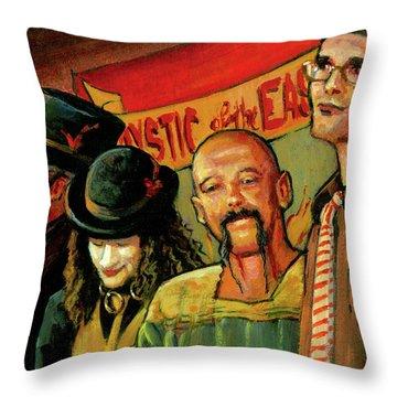 Sideshow Throw Pillow