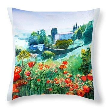 Siena View Throw Pillow