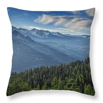 Sierra Mist Throw Pillow