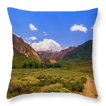 Sierra Mountains - Mammoth Lakes, California Throw Pillow