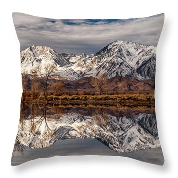 Sierra Reflections 2 Throw Pillow