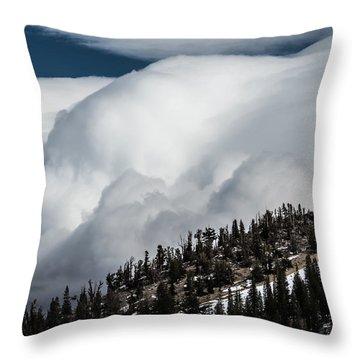 Sierra Stormclouds Throw Pillow