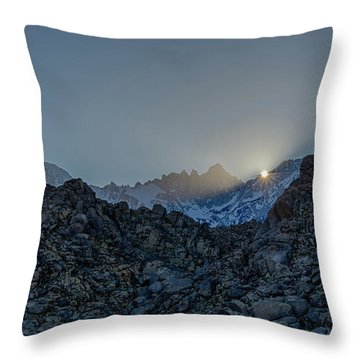 Sierra Sun Burst Throw Pillow