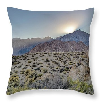 Sierra Sunrays Throw Pillow