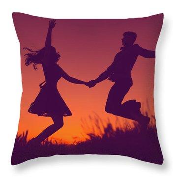 Sierra Sunset Throw Pillow