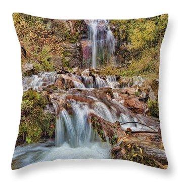Sierra Waterfall Throw Pillow
