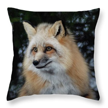Sierra's Profile Throw Pillow