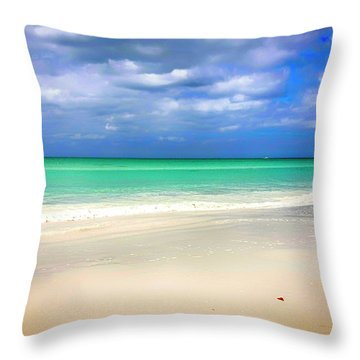 Siesta Key Beach Florida  Throw Pillow