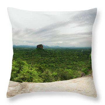 Sigiriya Panorama Throw Pillow