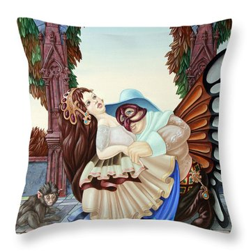 Sigmund Freud  Throw Pillow