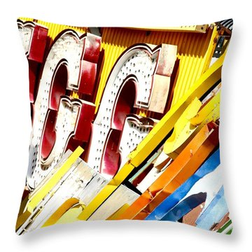 Sign-age Throw Pillow