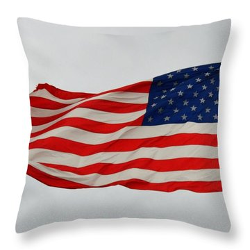 Sign Of Freedom Throw Pillow