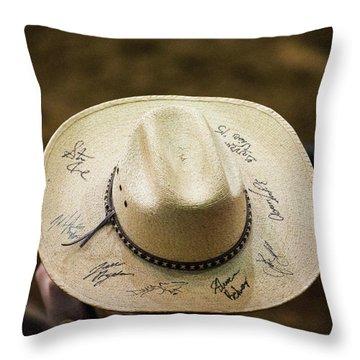 Signature Hat Throw Pillow