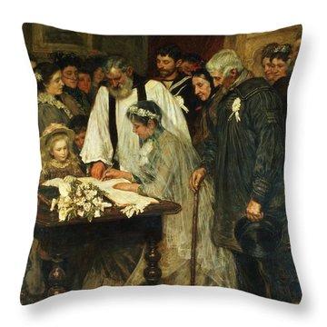 Pastors Throw Pillows
