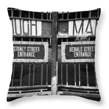 Signs Point The Way Throw Pillow