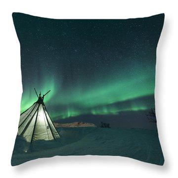 Aurora Throw Pillows