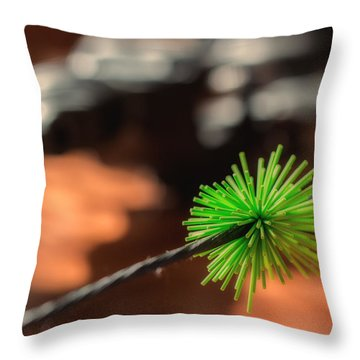 Silence Me Throw Pillow
