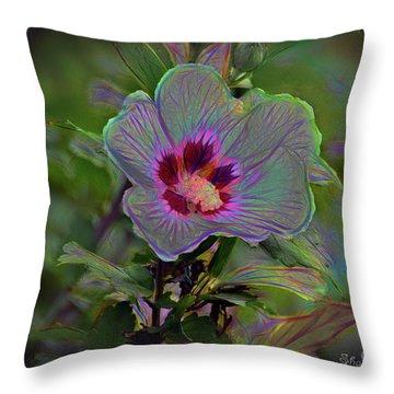 Silence Of Beauty Throw Pillow
