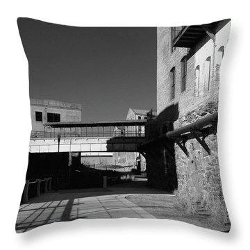Silence On The Banks Of The Chattahoochee Throw Pillow