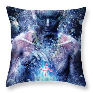 Silence Seekers Throw Pillow