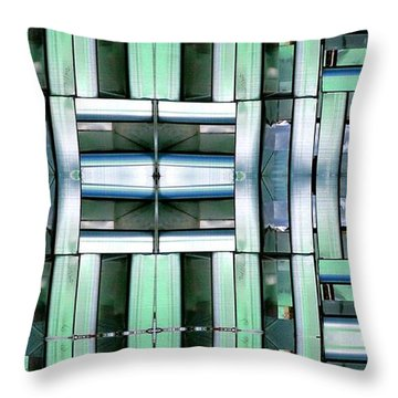 Silencer Throw Pillow by Ron Bissett
