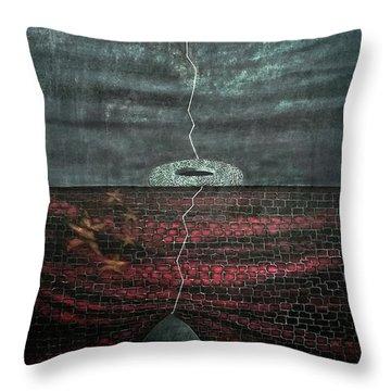 Silent Echo Throw Pillow