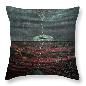 Silent Echo Throw Pillow