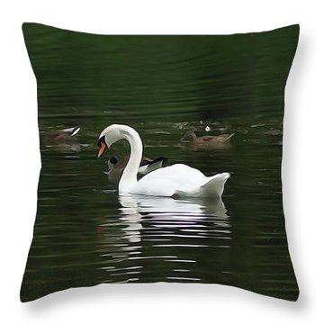 Silent Musical Throw Pillow