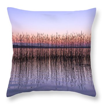 Silent Noise Throw Pillow