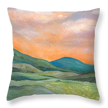 Silent Reverie Throw Pillow by Tanielle Childers