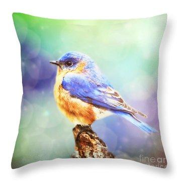 Silent Reverie Throw Pillow by Tina LeCour