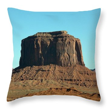 Silent Sentinel Throw Pillow by Fred Wilson
