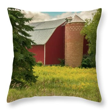 Silent Sentry Throw Pillow