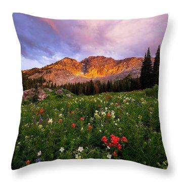 Silent Stirrings Throw Pillow