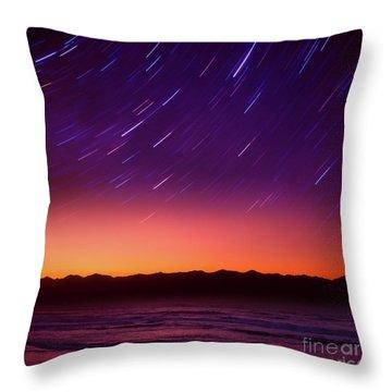 Silent Time Throw Pillow