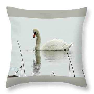 Silent Water Throw Pillow