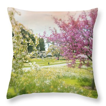 Throw Pillow featuring the photograph Silent Wish You Make by Diana Angstadt
