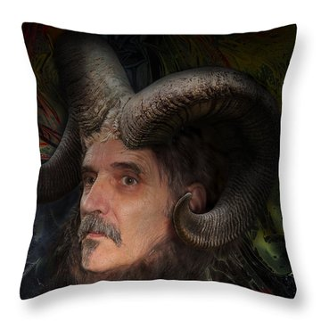 Silenus Throw Pillow