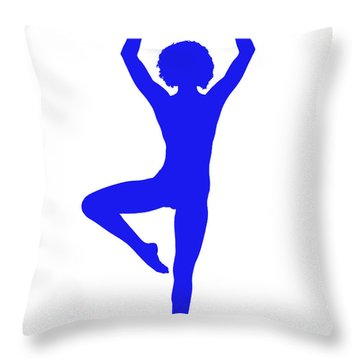 Silhouette 23 Throw Pillow