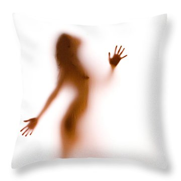 Silhouette 27 Throw Pillow