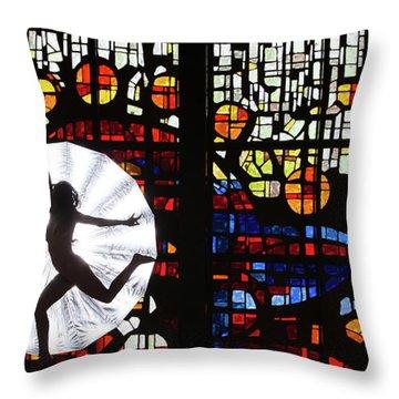 Silhouette 321 Pg Throw Pillow