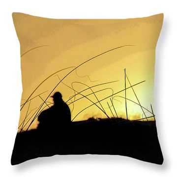 Lonely Times Throw Pillow