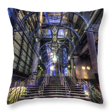 Silk And Steel 1.0 Throw Pillow